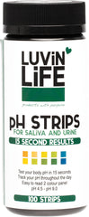 Luvin Life - pH Strips for Urine or Saliva