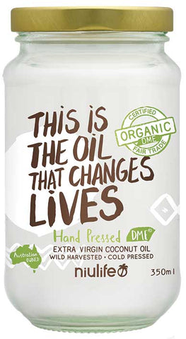 CLEARANCE - Niulife Extra Virgin Organic Coconut Oil