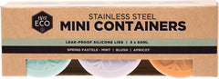 CLEARANCE - Ever Eco - Stainless Steel Mini Containers