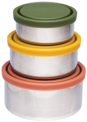 CLEARANCE - Ever Eco - Stainless Steel Round Containers