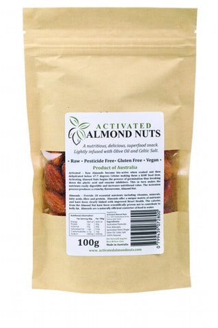 Raw Activated Almond Nuts