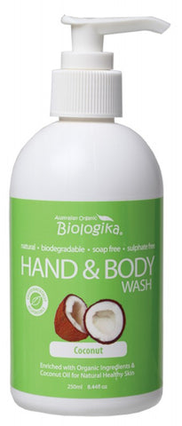 Biologika Organic Coconut Hand & Body Wash