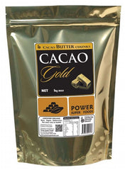 CLEARANCE - Power Super Foods - Raw Cacao Butter Chunks