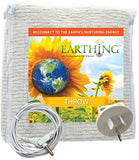 Organic Cotton Earthing Throw (Blanket) Kit - Earthy Living