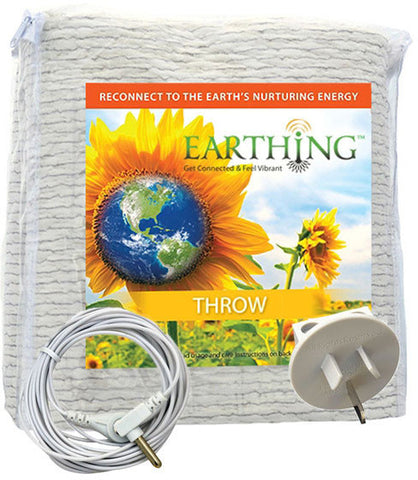 Organic Cotton Earthing Throw (Blanket) Kit