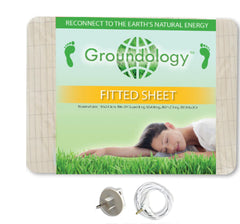 Earthing Queen Fitted Sheet Kit