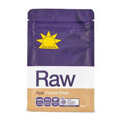 Amazonia - RAW Organic Acai Berry Freeze Dried Powder