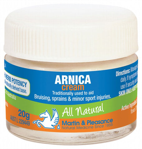 MARTIN & PLEASANCE Arnica Cream Jar 20g