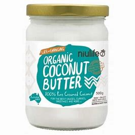 Niulife Organic Creamed Coconut Butter