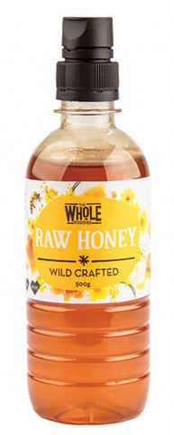 THE WHOLE FOODIES Honey (Wild Crafted) Squeeze 500g