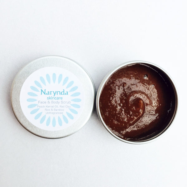 Mini Face & Body Scrub