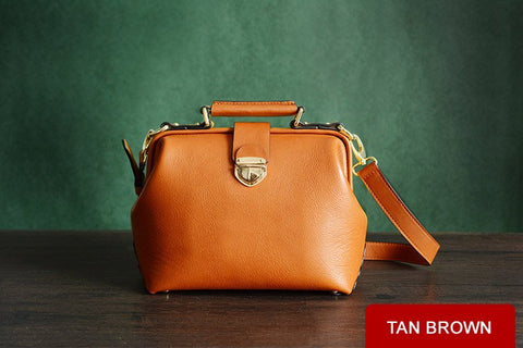 Leather Doctor's Bag, Ref: Mala  SR-202