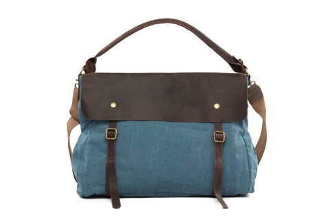 Canvas School Bag, Ref: Mala SR-070