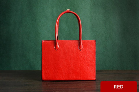 Ladies Leather Tote Bag Custom Manufacture, Ref: Mala SR-176
