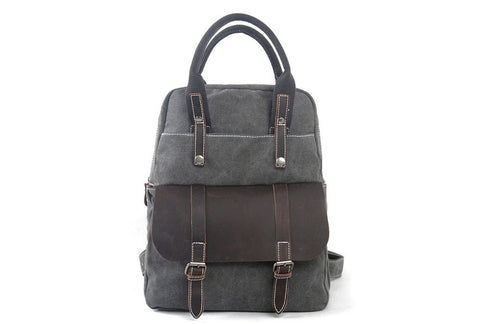 Waxed Canvas Hiking Backpack, Ref: Mala SR-274