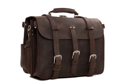 Large Leather Travel Bag, Ref: Mala SR-182