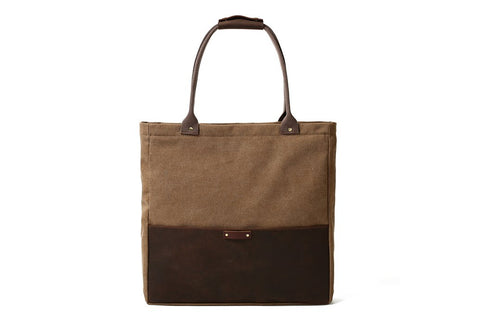 Ladie's Leather Tote Bag, Ref: Mala SR-171