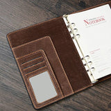 Italian Leather Handmade A5 Journal, Ref: Mala  SR-