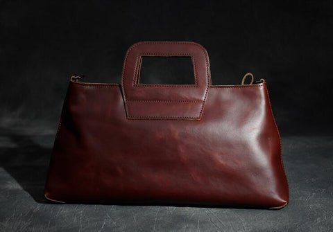 Full Grain Ladie's Shoulder Bag, Ref: Mala  SR-101