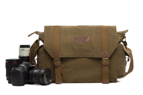 Waxed Canvas Diaper Bag, Ref: Mala SR-272