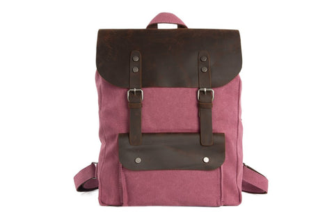 Canvas Backpack, Ref: Mala SR-