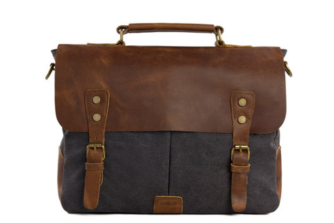 Canvas Messenger Bag, Ref: Mala SR-065