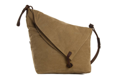 Canvas / Leather Satchel Ref: Mala SR-046