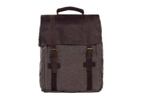 Waxed Canvas Backpack, Ref: Mala SR-270