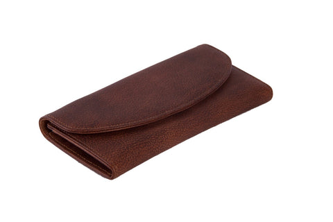 Handcrafted Men's Leather Wallet, Ref: Mala SR-121