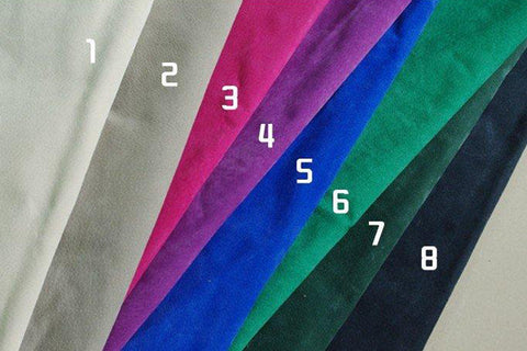 Suede Colour Lining Options, SR-251