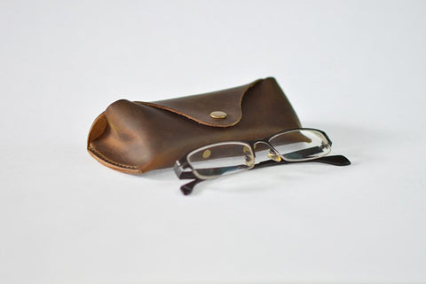 Leather Sunglas Case, Ref: Mala SR-212