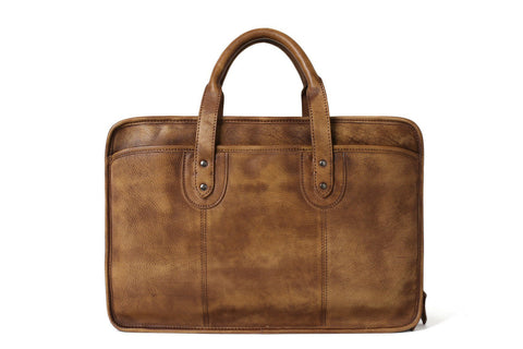 Full Grain Laptop Briefcase, Ref: Mala  SR-104