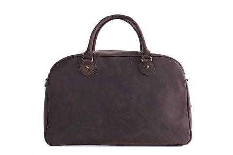 Leather Top Grain Duffle Bag, Ref: Mala SR-213