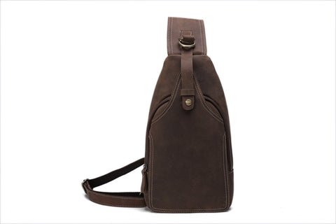 Rustic Leather Sports Bag, Ref: Mala SR-244