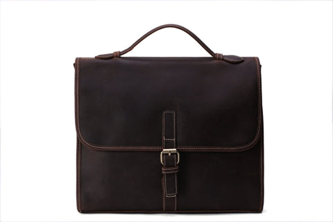 Men's Leather Laptop Briefcase, Ref: Mala  SR-230