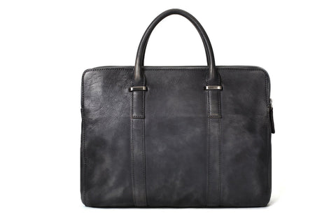 Leather Briefcase Vegetable Tanned, Ref: Mala SR-192