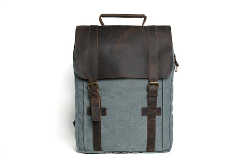 Canvas School Bag, Ref: Mala SR-069
