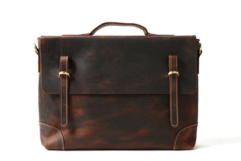 Men's Leather Briefcase, Ref: Mala SR-226
