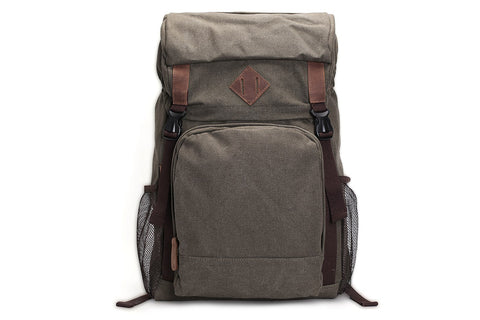 Canvas Hiking Backpack, Ref: Mala SR-058
