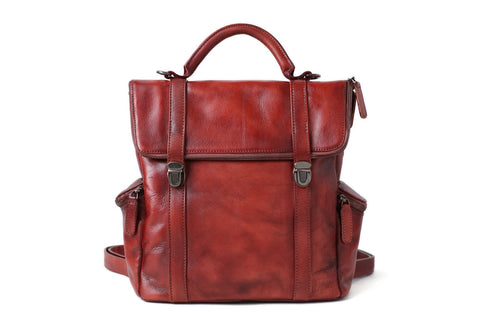 Handmade Full Grain Leather Designer Bag, Ref;  SR-127