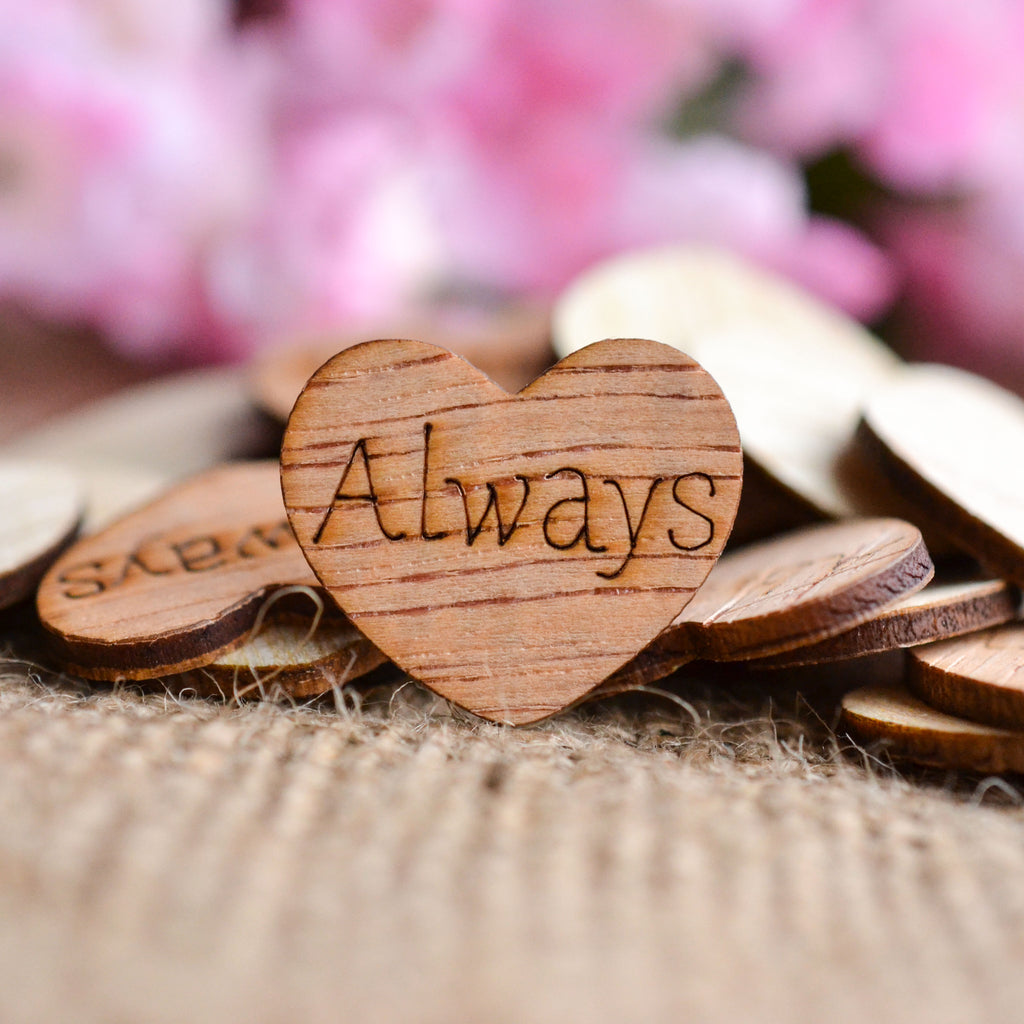 """Always"" Heart Confetti - 1"""