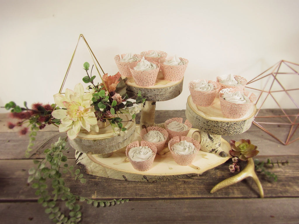Woodland Cupcake Stands