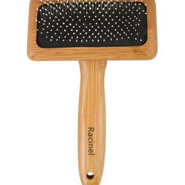 Racinel Comfort BAMBOO slicker brush ball pin S