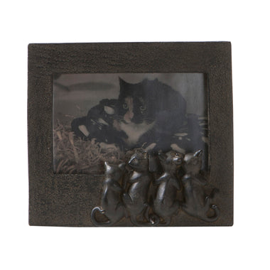 Picture Frame with Cats