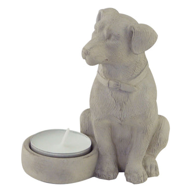 Tealight Holder Sitting Dog