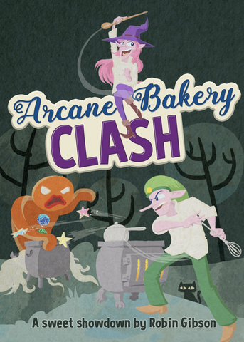Arcane Bakery Clash - Print & Play