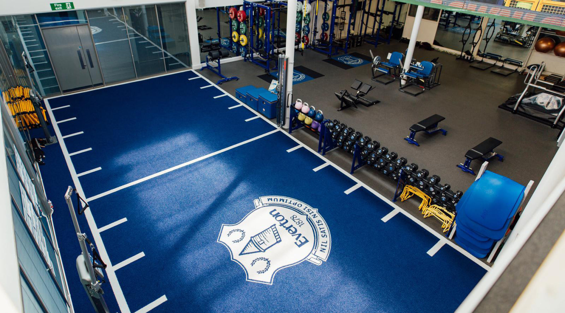 Everton Football Club Gym Facility