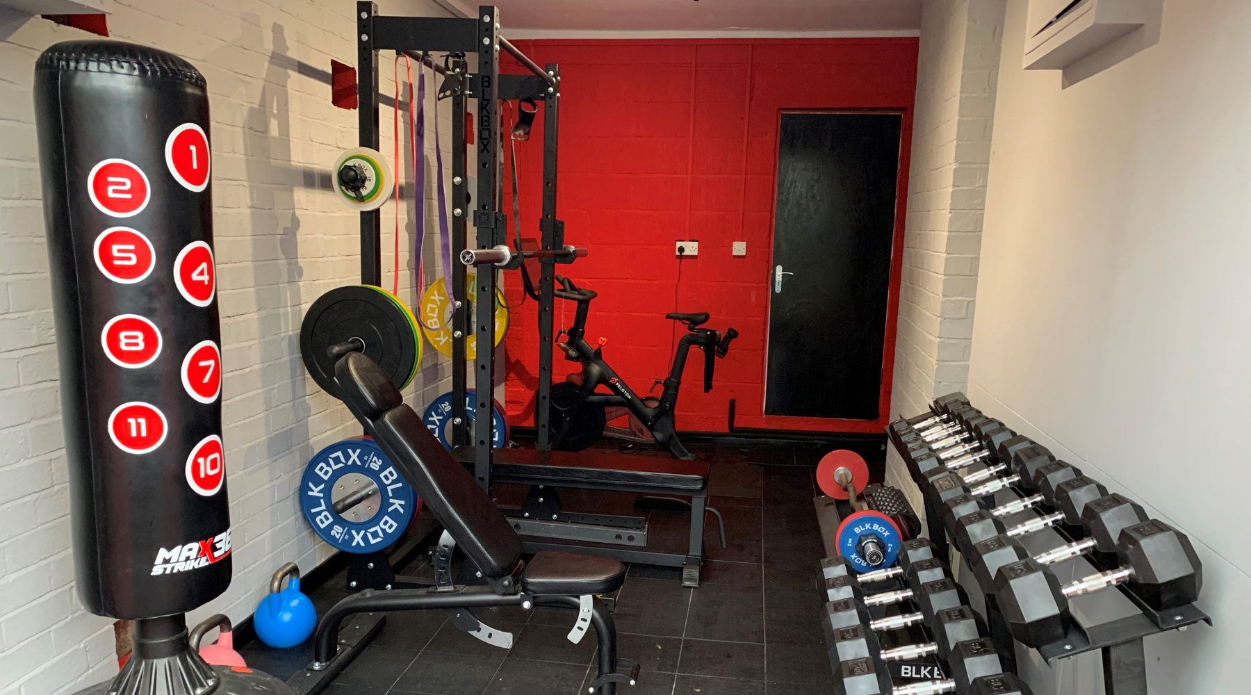 Yorke-Biggs Family Ready for Lockdown 2.0 with BLK BOX Home Gym