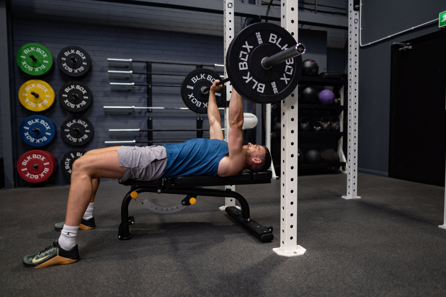 Exercising your whole body bench press