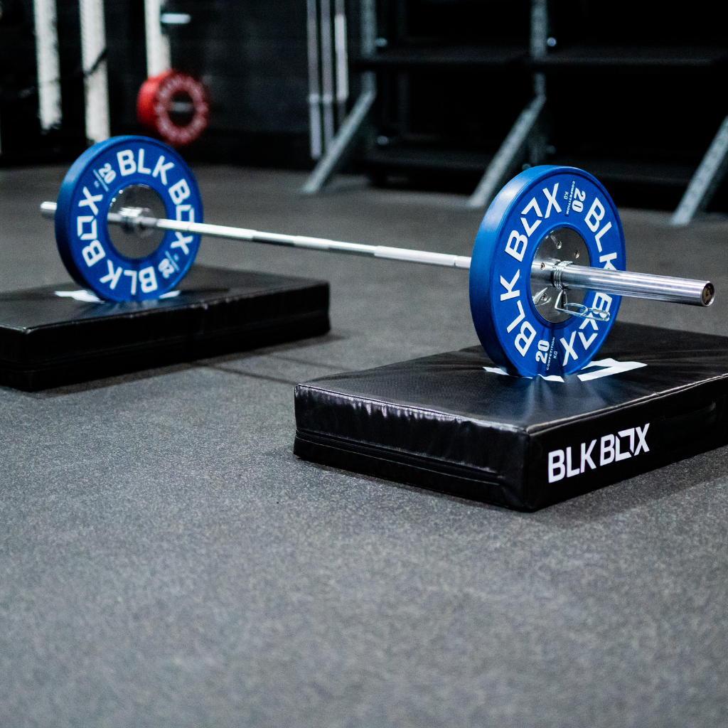 BLK BOX Weightlifting Pound Pads (Pair)